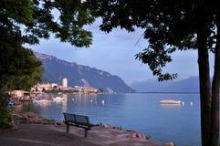 Rest on Lake Geneva Stock Photo