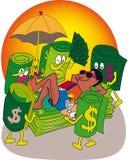 Rest millionaire Stock Images