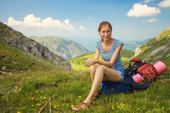 Rest in mountains Royalty Free Stock Photos