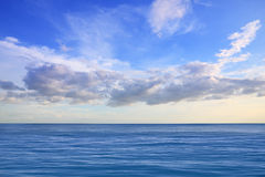 Rest ocean and cloud Royalty Free Stock Images