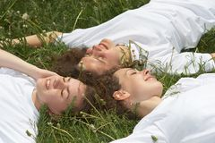 Rest On The Nature Stock Image