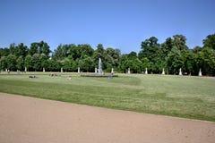 Rest in the park Sanssouci Stock Image