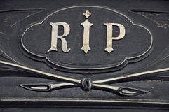 Rest in peace Stock Image