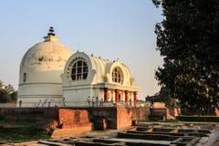 Rest place of Buddha. In Kushinaga India Stock Image