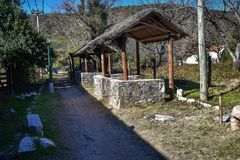 REST PLACES. IN EL RODEO, CATAMARCA, ARGENTINA Royalty Free Stock Photos