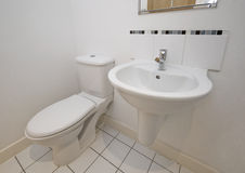 Rest room detail Royalty Free Stock Photo