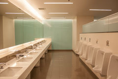 Rest room. Luxury clean rest room interior Stock Photo