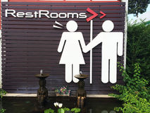 Rest Rooms Royalty Free Stock Photography