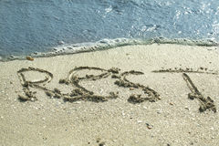 Rest at the sea. It is perfect rest royalty free stock photos
