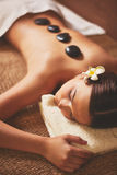 Rest in spa salon Royalty Free Stock Photos