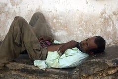 Rest stenTown, Zanzibar, Tanzania 免版税库存图片
