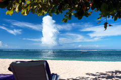 Rest on the sunny beaches of Bali Royalty Free Stock Photography