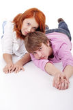 Rest teen Stock Photo