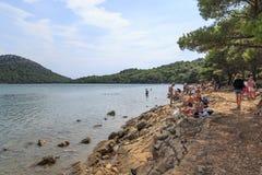 Rest in Telascica Nature Park Stock Photo