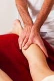 Rest und Entspannung durch Massage Lizenzfreie Stockbilder