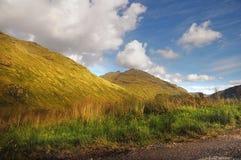 Rest und ist dankbare Berglandschaft Stockfotografie