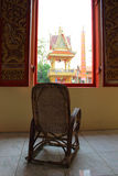 Rest and view on morning with Thai culture Stock Photos