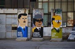 Rest von Berlin Wall lizenzfreies stockfoto