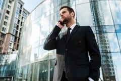 Restando in contatto con i clienti Immagine Stock