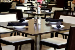 Restarant tables Royalty Free Stock Image
