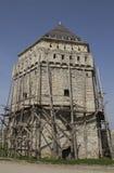 Restauração da torre da fortaleza Fotografia de Stock Royalty Free