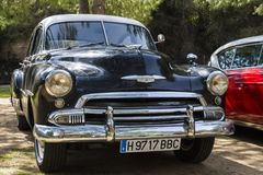 Restauração de um veículo velho imagem de stock