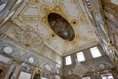 Restauração dos interiores do palácio de mármore Foto de Stock