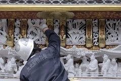 Restauração, Nikko, Toshogu fotos de stock