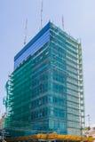 Restauración de edificios altos Imagenes de archivo