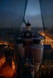 Restauración de la catedral de Vladimir Icon de nuestra señora en St Petersburg Foto de archivo
