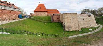 Restauración de un bastión viejo de la artillería fotos de archivo