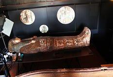 Restauración del sarcófago Fotografía de archivo libre de regalías