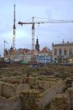 Restauración Dresden Imágenes de archivo libres de regalías