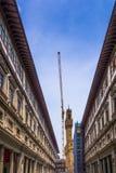 Restauración en Florencia fotos de archivo libres de regalías