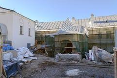 Restauración en St Anthony Monastery Fotos de archivo