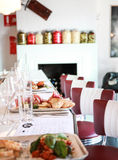Restauraci prętowy wnętrze Obrazy Royalty Free