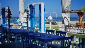 Restauraci w grecji Obrazy Royalty Free