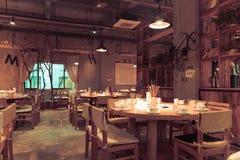 Restauracja Fotografia Royalty Free