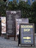 Restauracja billboardu menu Zdjęcie Stock