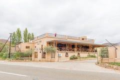 Restauracja blisko Cango Zawala się Obrazy Stock