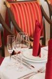 restauracja cukierniany stół zdjęcie royalty free
