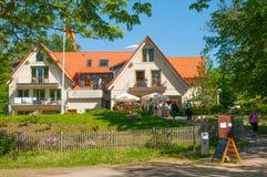 Restauracja i hotel na górze Burgberg góry w Niemcy Zdjęcie Royalty Free