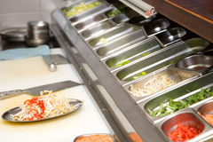 restauracja kuchennych Zdjęcia Stock