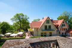 Restauracja na górze Burgberg góry Zdjęcie Stock