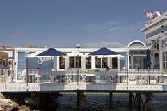 Restauracja na wody krawędzi Sausalito CA Obraz Stock