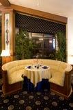 restauracja stół Obrazy Royalty Free