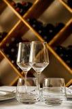 Restauracja stół Obraz Royalty Free