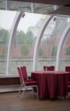 restauracja stół Zdjęcie Royalty Free