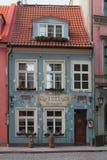 Restauracja szef kuchni kuchni ` 1221 ` łotwa Riga Fotografia Stock