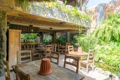 restauracja tropikalna zdjęcia royalty free